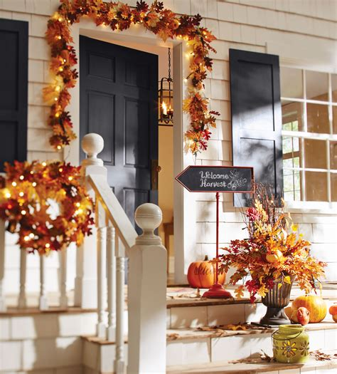 fall decorating ideas   front porch  entryway