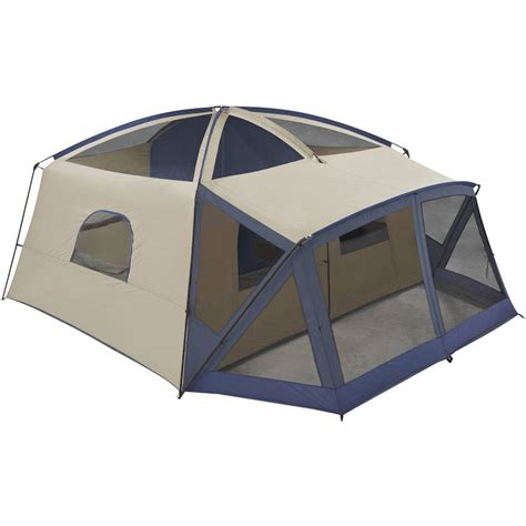 Ozark Trail Cabin Tents by Ozark Trail 12 Person Cabin Tent With Screen Porch Ebay