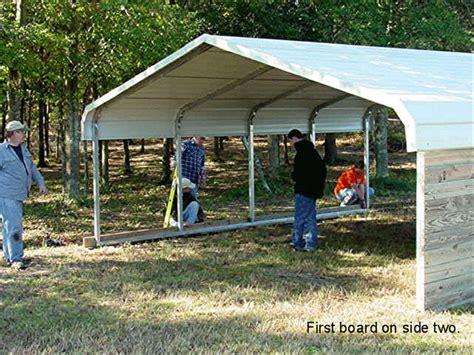 Build A Carport Cheap How To Build A Barn Home Design Garden Architecture