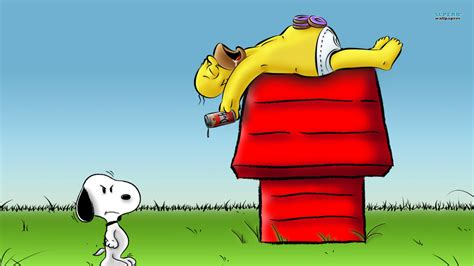 Descargar Home Design 3d Para Mac by Peanuts Images Snoopy And Homer Hd Wallpaper And
