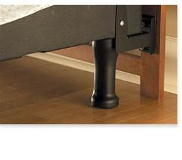 How To Attach A Footboard To A Bed Frame by Sleep Number 174 Headboard And Footboard Brackets Attach A