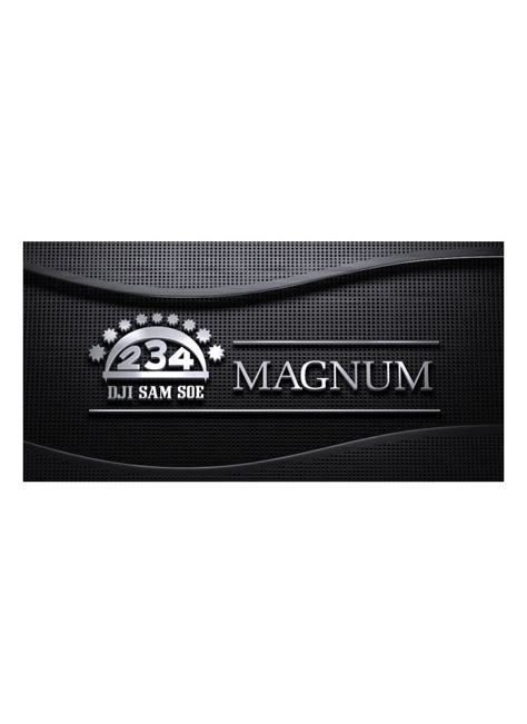 Rokok Soerna Magnum Filter 12 dji sam soe rokok filter magnum premium bks 12 s