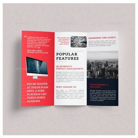 modern trifold brochure template by huemenow graphicriver
