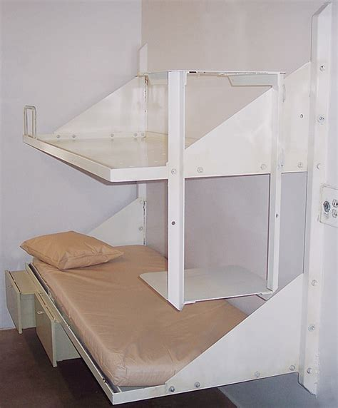 Wall Mounted Bunk Beds Wall Mount Bunk Bed Iowa Prison Industries