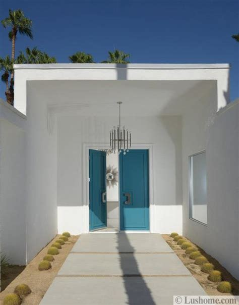 Modern Front Door Colors Mid Century Modern Door Colors Adding Fashion And Flair To House Exteriors