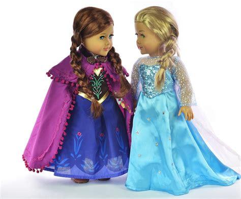 Promo Elsa Set 3in1 disney frozen elsa 18 quot doll princess dresses just 36 99 fits american doll our