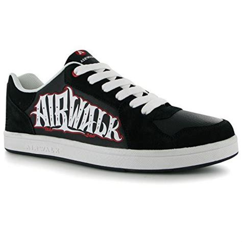 airwalk mens seattle skate shoes lace fastening sport