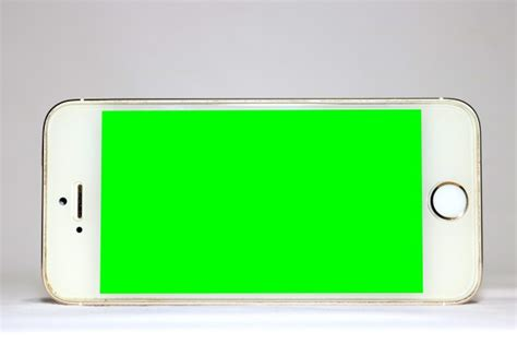 Mobile Template With Green Screen Psd File Free Download Green Screen Templates