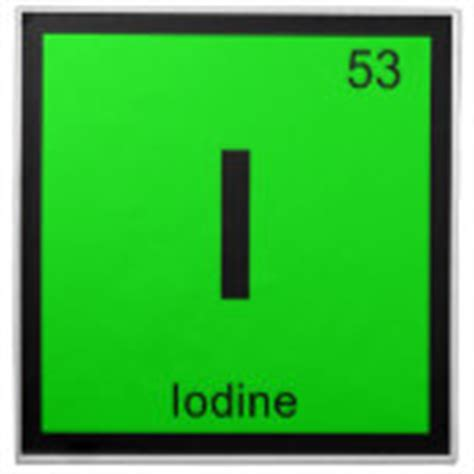 Iodine Periodic Table by Iodine Individual Element Of The Periodic Table Napkins