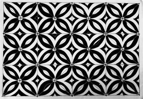 desain batik mudah 5 motif batik yang mudah digambar untuk anak smp