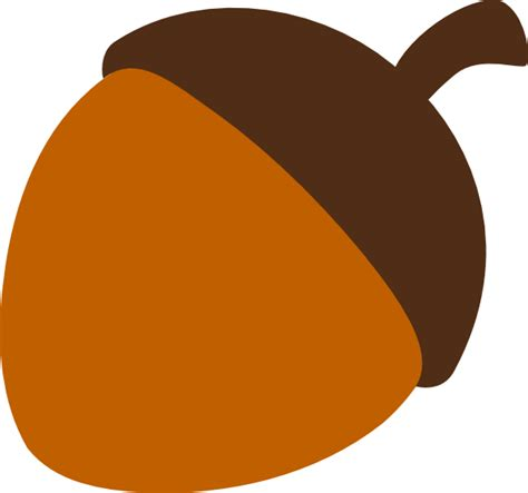 Acorn Clipart acorn clip at clker vector clip royalty free domain