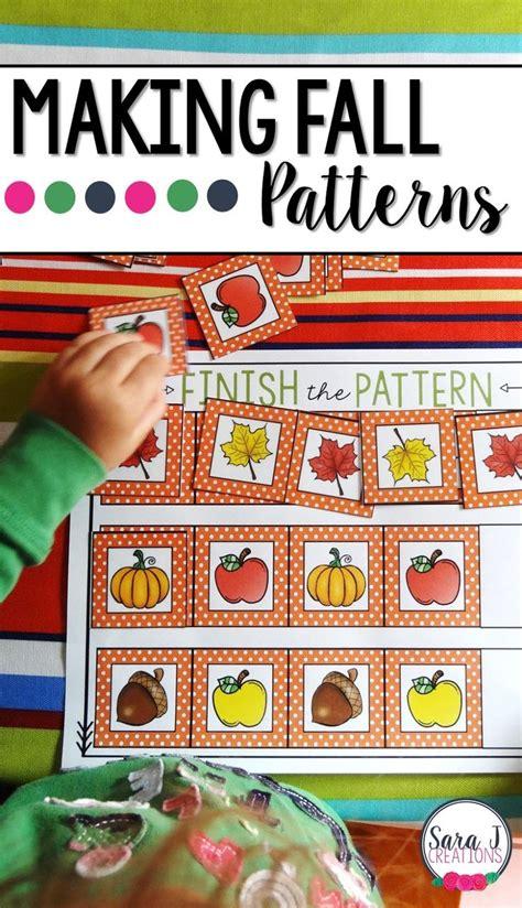 pattern perfect math 17 best ideas about fall preschool on pinterest fall