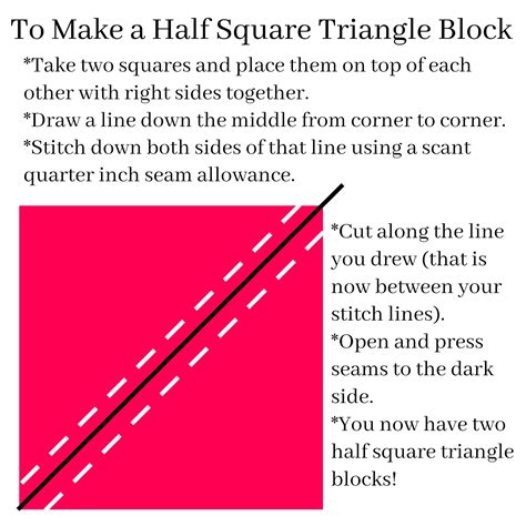 how to make broken dishes quilt blocks using half square triangles simple simon and company