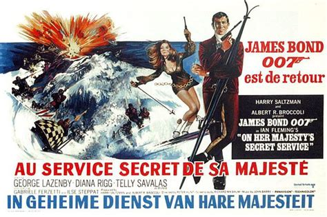 film james bond film james bond on her majesty s secret service james bond movies