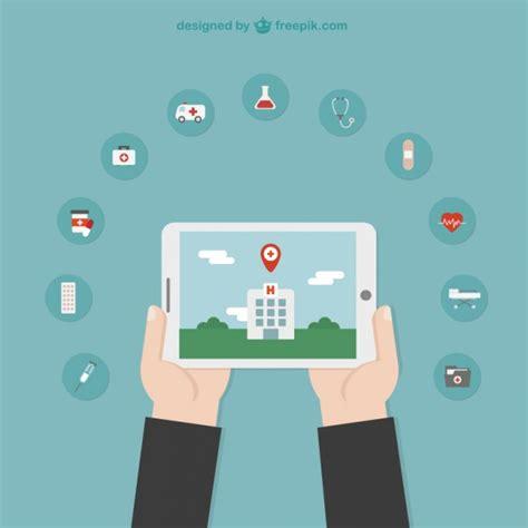 hospital location vectors   psd files