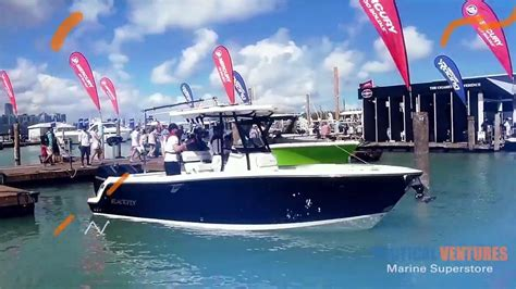 miami boat show highlights miami boat show 2018 highlights nautical ventures youtube