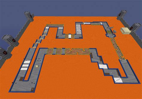 How Safe Are Lava Ls by Craft Kart Map For Minecraft Minecraftdls