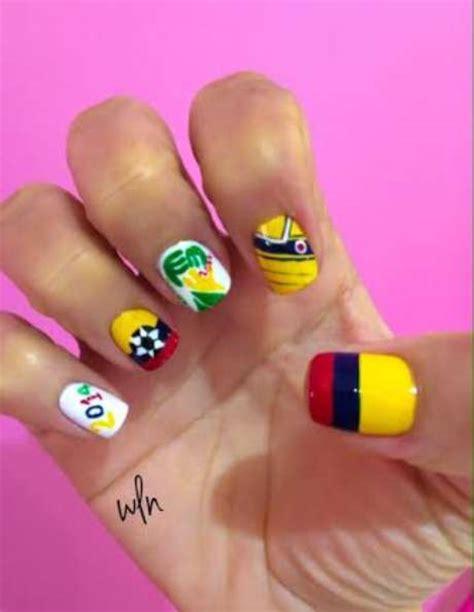 imagenes de uñas decoradas de colombia 2015 mundial brasil 2014 u 241 as decoradas para apoyar a tu equipo
