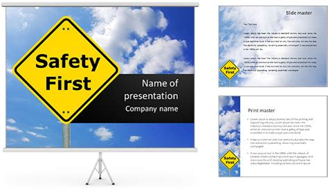 free safety powerpoint templates pin free powerpoint safety presentations on
