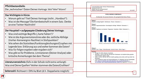 Word Vorlage Handout Handout Aufbau Tipps Beispiele Pr 228 Sentationstipps De