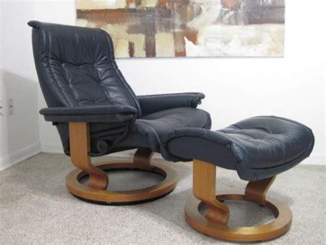 ekornes stressless recliner ebay ekornes stressless recliner lounge chair danish modern