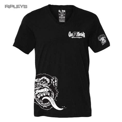 T Shirt Monkey official gmg t shirt gas monkey garage v neck side monkey