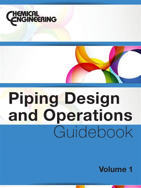 plant design and operations books piping design and operations guideobook volume 1 1 pdf