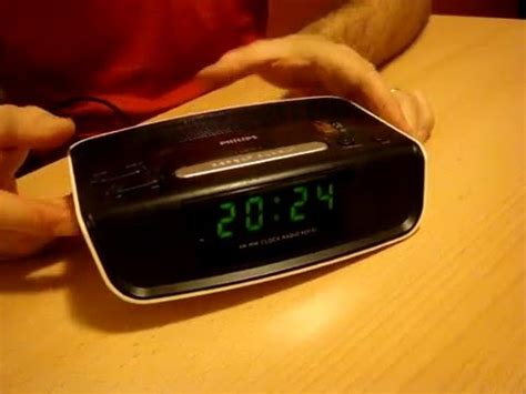 Original Clock Radio Philips Aj3123 12 philips aj3121 12 radio desteptator ceas digital