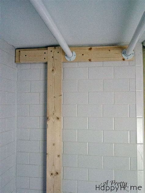turning a tub shower into a closet without damage a