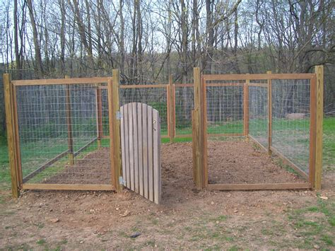 backyard fences fence for our vegetable garden farmer s daughter