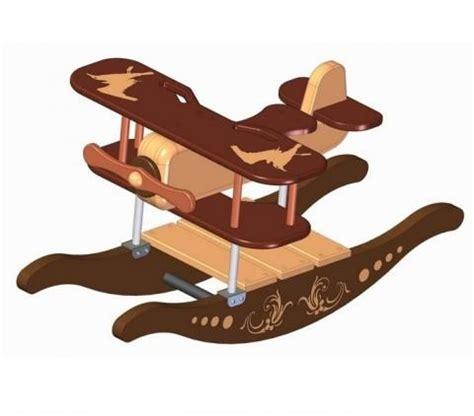 airplane rocker toy plan   cool