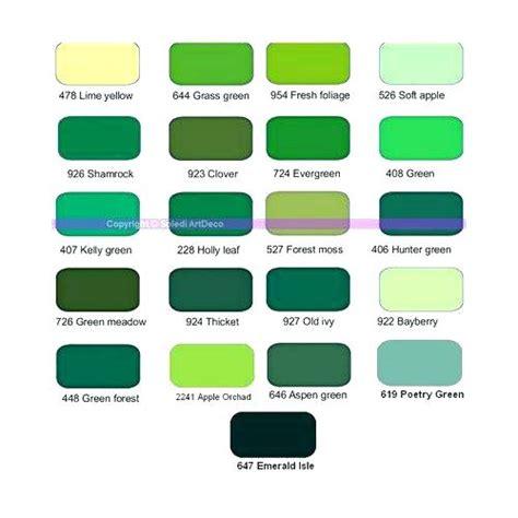 Association De Couleur Avec Le Vert by Association Couleur Association Couleur Vert Great