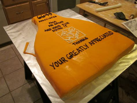 home depot apron cake cakecentral