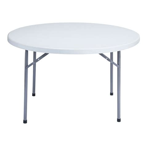 48 Folding Table national seating bt48r 48 quot gray plastic