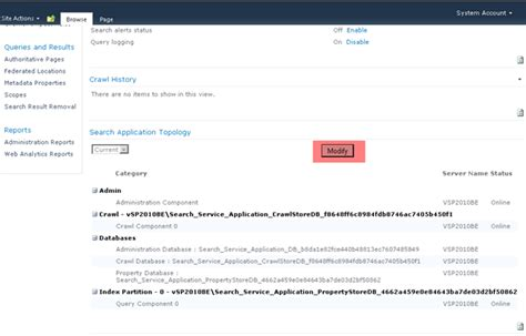 Search Application Renaming Sharepoint 2010 Guid For Crawl Store Database Aryan Nava