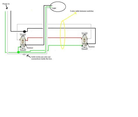 two switches one light have one light on two 3 way switches adding recessed