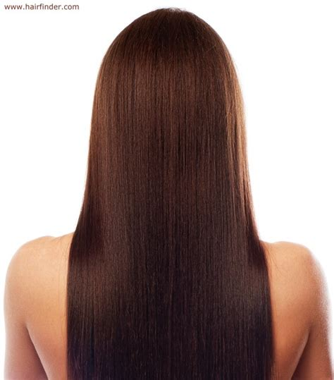 my hair is straight in the back the gallery for gt black long hair back view