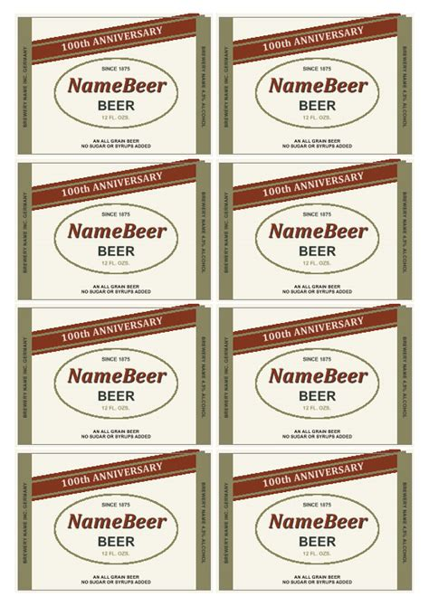 custom label templates label template make your own labels