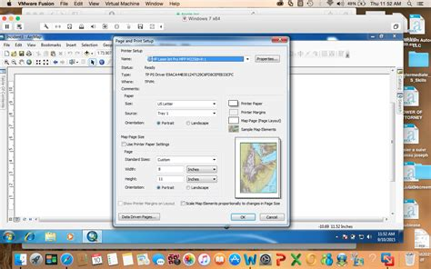 arcgis layout view portrait landscape arcgis desktop how to make my map fit the whole screen