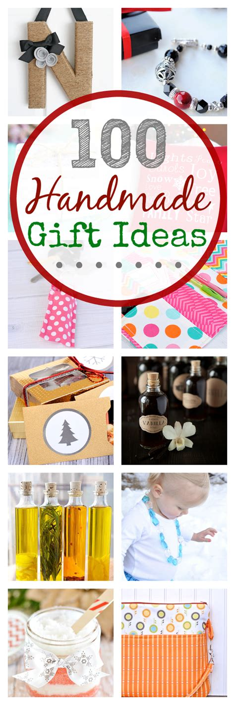 Handmade Gift Ideas - 100 handmade gift ideas projects