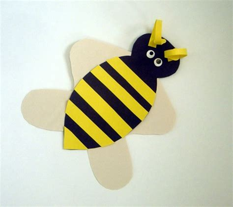 Bumble Bee Paper Plate Craft - 1000 ideas about bumble bee crafts on bee
