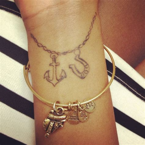 charm bracelet tattoo designs ankle my