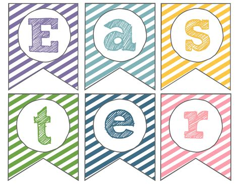 printable easter banner easter banner free printable happy easter paper trail