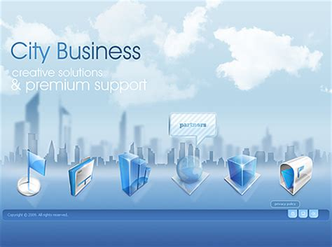 city business easy flash template id 300110566 from