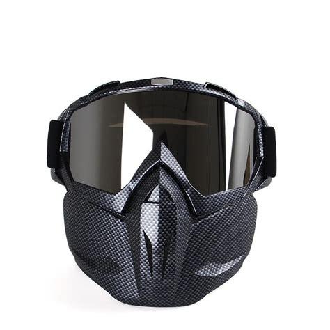 Sale Goggle Mask Gogle Mask Masker Putih Kaca Pelangi field cs tactical protective motorcycle goggles mask glasses sale banggood