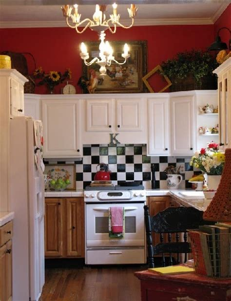 yellow and red kitchen ideas colorful cottage decorating ideas in red yellow blue black