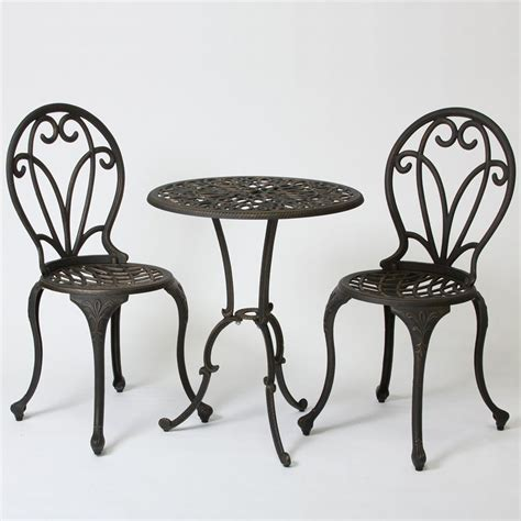 best selling home decor 232239 thomas cast aluminum 3 shop best selling home decor thomas 3 piece black gold