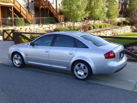 how cars run 2001 audi a6 parking system find used mint 2001 audi a6 v8 quattro new audi 18 quot wheels contiwinter 27k miles s6 look in