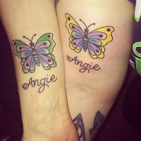 25 sweet mother daughter tattoos
