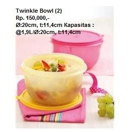 Twinkle Bowl Reguler 17 best images about tupperware indonesia on